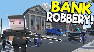 Download BANK ROBBERY & POLICE CHASE THROUGH THE CITY! - Tiny Town VR Gameplay - Oculus Rift Game Video