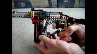 Download Working LEGO Semi-Auto MP (German MP40 Inspired) Video