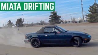 Download Can You DRIFT A Completely Stock MIATA? OPEN DIFF Video