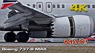 Download Boeing 737-8 MAX (Details) [4K] Video