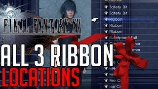 Download Final Fantasy XV ALL 3 RIBBON ACCESSORY LOCATIONS Video