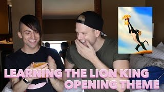 Download LEARNING THE LION KING OPENING THEME Video