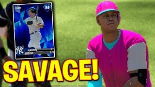 Download Diamond Aaron Judge Is Amazing! MLB The Show 18 | Battle Royale Gameplay #1 Video