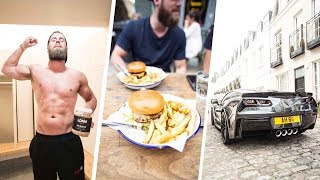 Download Burnouts, Biceps and Burgers - EP. 6 Ft. Archie Hamilton | TRICEP WORKOUT Video