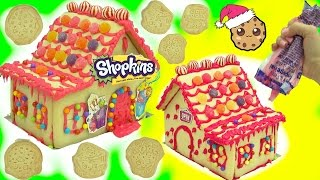 Download DIY Shopkins Rainbow Candy Christmas Cookie House Kit - Cookieswirlc Video Video