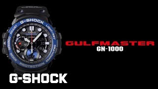 Download CASIO G-SHOCK GULFMASTER GN-1000 product video Video