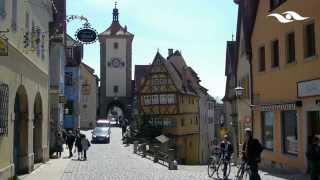 Download Rothenburg ob der Tauber die vielleicht bekannteste Kleinstadt Deutschlands Video
