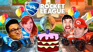 Download ANIVERSÁRIO DO CONTROLE 2 - Rocket League - Damiani e Satty vs Leon e Edu Video