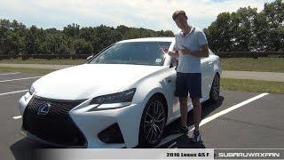 Download Review: 2016 Lexus GS F Video