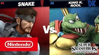 Download Super Smash Bros. Ultimate – King K. Rool gameplay (Nintendo Switch) Video