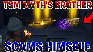 Download TSM MYTH'S Brother Scams Himself (Scammer Gets Scammed)Fortnite Save The World Video