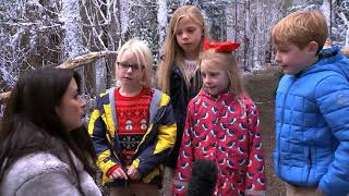 Download Look what surprise Santa had in store for these children Video
