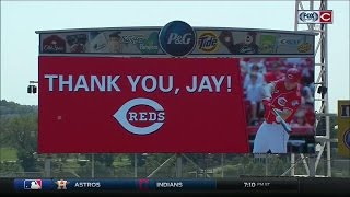 Download Cincinnati Reds honor Jay Bruce with ceremony before the team's game vs. New York Mets Video