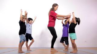 Download Yoga For Beginners   20 Minute Kids Yoga Class with Yoga Ed.   Ages 3-5 Video