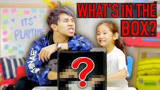 Download Kid VS Adult: What's In The Box Challenge! Video