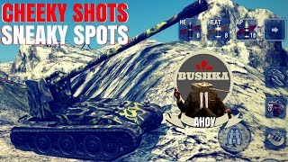Download SNEAKY SPOTS AND CHEATY SHOTS World of tanks Blitz Video