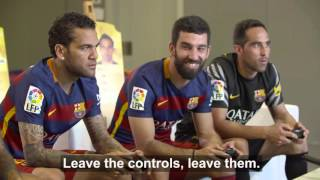 Download BEHIND THE SCENES - FC Barcelona players enjoy themselves with FIFA 16 Video
