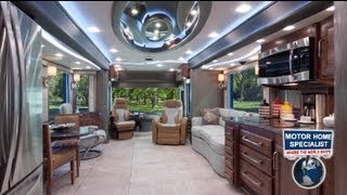 Download $1.2M Foretravel Luxury RV Review for Sale at Motor Home Specialist Video