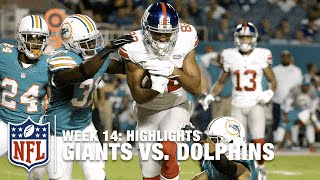 Download Giants vs. Dolphins | Week 14 Highlights | NFL Video