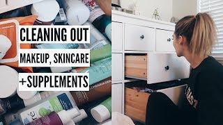 Download Organizing + Purging Makeup, Skincare + Supplements | MEL WEEKLY #40 Video
