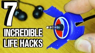 Download 7 Incredible Life Hacks and Gadgets! Video