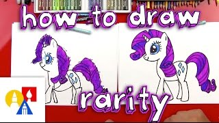 Download How To Draw Rarity My Little Pony Video