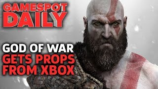 Download God Of War Gets Congrats From Xbox Boss - GameSpot Daily Video
