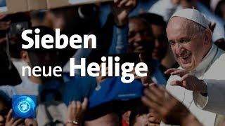 Download Rom: Deutsche Nonne heiliggesprochen Video
