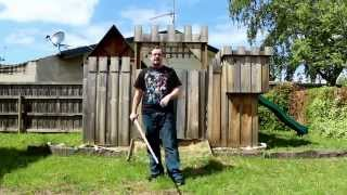 Download How to spin / twirl / flourish a sword Video