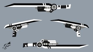 Download 'Eon Eclypse' and 'Oblivion Oath' - RWBY OC Weapons Video