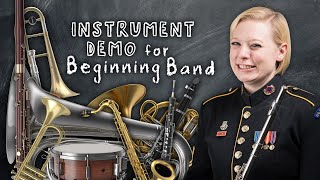 Download Instrument Demonstration for Beginning Band Video