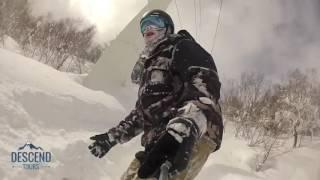 Download Deep powder snow Hokkaido, Japan Video