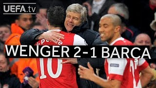Download WENGER'S GREAT VICTORIES: Arsenal 2-1 Barcelona Video