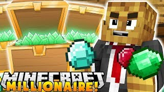 Download GETTING $1,000,000 AND BEATING THE PACK!? - MINECRAFT MILLIONAIRE MOD PACK #6 Video