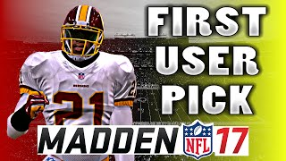 Download Madden 17 Career Mode FS Ep.2 - FIRST USER PICK!! PERFECT PRESEASON? Video