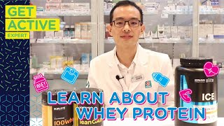 Download Learn About Whey Protein With #GetActiveExpert Review Video