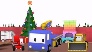 Download Christmas Preparation - Learn with Tiny Trucks: bulldozer, crane, excavator , Video