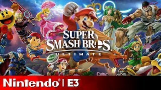 Download Super Smash Bros Ultimate Full Reveal | Nintendo E3 2018 Direct Video