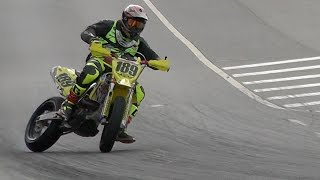Download Supermoto Drifts, Jumps & Crashes | iDM St. Wendel 2017 Video