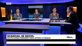 Download Scandal in Seoul: South Korean President Park offers to resign (part 1) Video