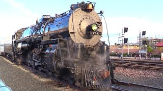 Download SANTA FE 3751 Steam Locomotive Departure 2017 Video