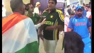 Download India vs Pakistan Fans Fight In Stadium After Champions Trophy 2017 Finals Video