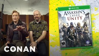 Download Clueless Gamer: Conan Reviews ″Assassin's Creed: Unity″ - CONAN on TBS Video