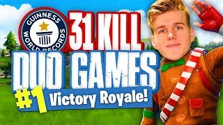 Download WORLDS MOST KILLS IN DUOS - 31 Kills (Fortnite Battle Royale) Video