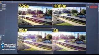Download Security Camera Resolution Comparison: 4CIF, 720p, 1080p, 5MP, 4K, and 180 & 360 Panoramic 12MP Video
