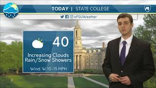 Download Mike's Thursday Morning Forecast 03-15-18 Video