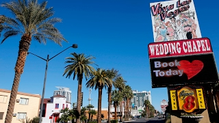Download Time-lapse of Valentine's Day weddings at Viva Las Vegas Wedding Chapel Video