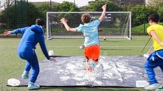 Download SLIP 'N' SLIDE FOOTBALL CHALLENGE Video