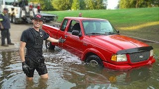 Download Found Sunken Truck Underwater in the River at Boat Ramp! (Recovered Truck for Owner) Video