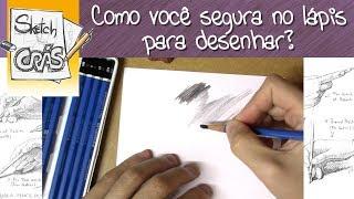 Download Como você SEGURA no lápis para DESENHAR? - Sketch Crás Video